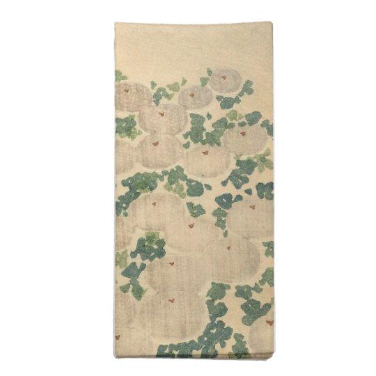 Kimono Design 4 Printed Napkins