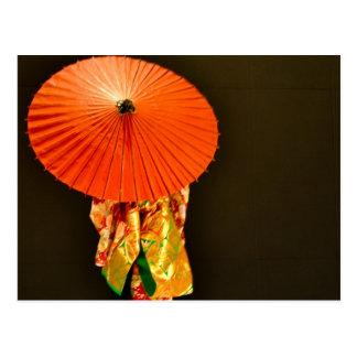 Kimono Dreams 1 Postcard