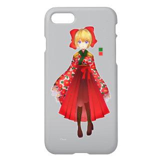 Kimono Girl iPhone 8/7 Case