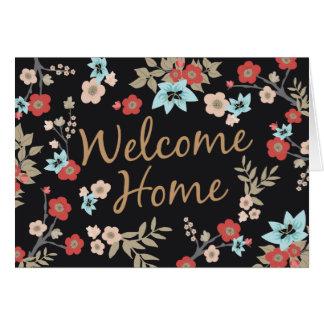 Kimono Print New Home Card