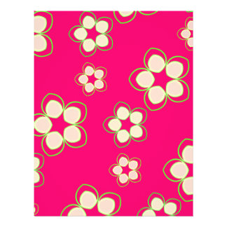 Kimono Rose Pink Lotus Full Colour Flyer