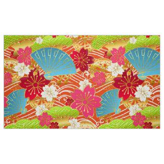 Kimono styled pattern Fabric