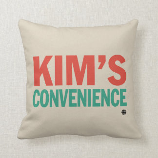 Kim's Convenience Throw Pillow