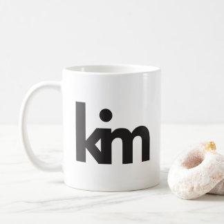Kim's personal coffee mug