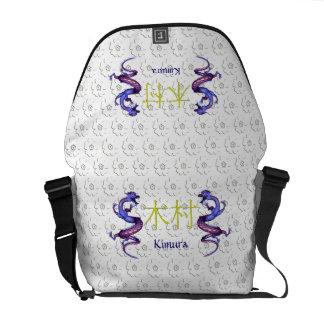 Kimura Monogram Dragon Messenger Bag