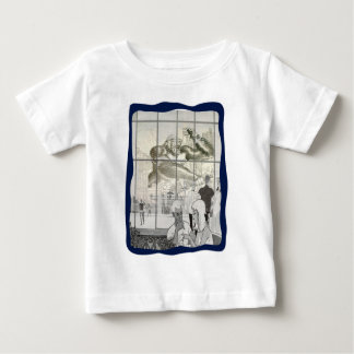 kin kong in aerport baby T-Shirt