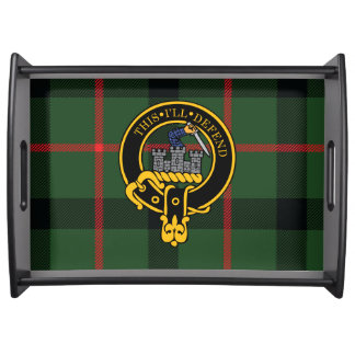 Kincaid Scottish Crest and Tartan Serving Tray