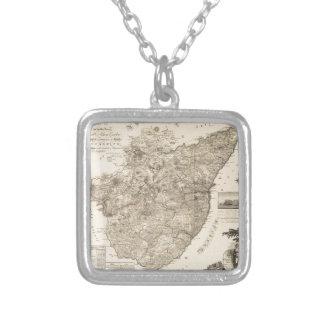 Kincardine Scotland 1774 Silver Plated Necklace