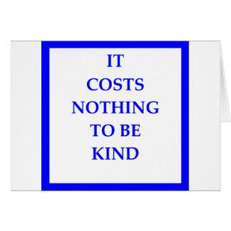 KIND CARD