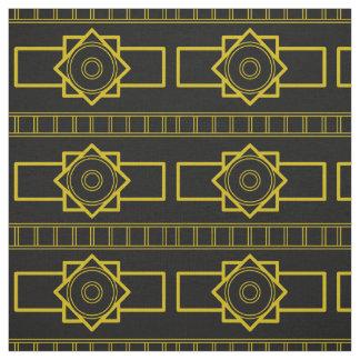 Kind Deco gold-black Fabric
