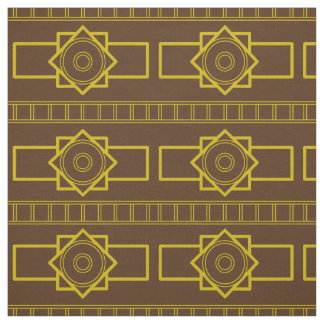 Kind Deco gold-brown Fabric