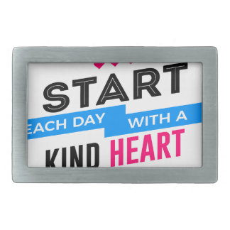 Kind Heart Compassion Humanity Belt Buckle