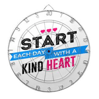 Kind Heart Compassion Humanity Dartboard
