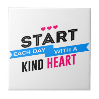 Kind Heart Compassion Humanity Tile