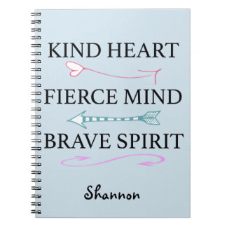 Kind Heart, Fierce Mind, Brave Soul Journal