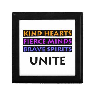 Kind Hearts, Fierce Minds, Brave Spirits Unite Gift Box