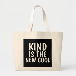 KIND IS THE NEW COOL TOTES book bags