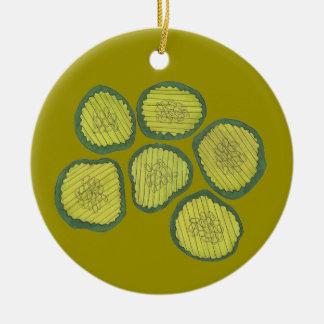 Kind of a Big Dill Deal Congrats Pickle Pickles Ceramic Ornament
