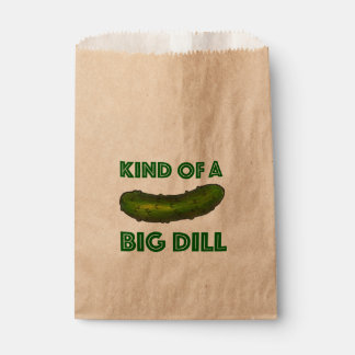 Kind of a Big Dill (Deal) Green Pickle Congrats Favour Bag