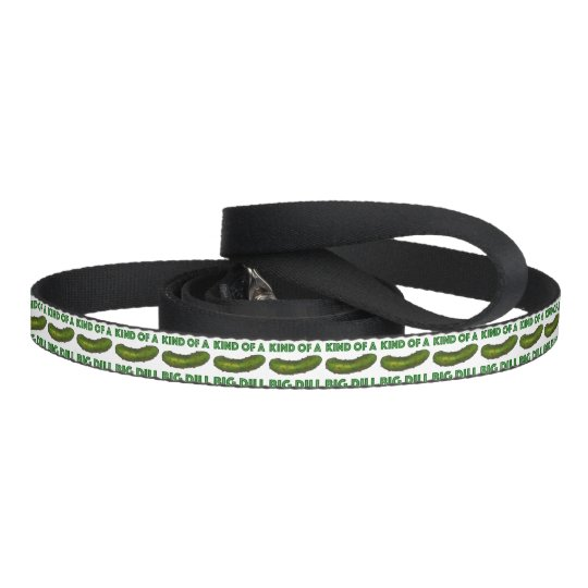 Kind of a Big Dill (Deal) Green Pickle Dog Leash