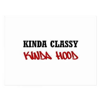 Kinda Classy Kinda Hood Postcard