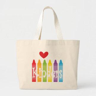 kinder teacher2 large tote bag
