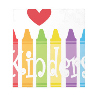 kinder teacher2 notepad