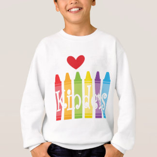kinder teacher2 sweatshirt