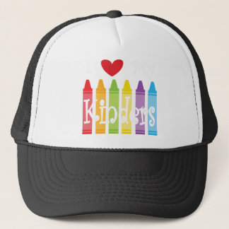 kinder teacher2 trucker hat