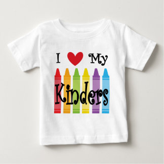 kinder teacher baby T-Shirt