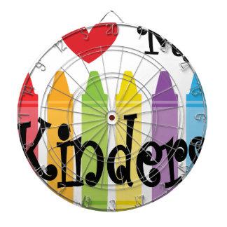 kinder teacher dartboard