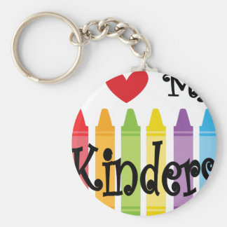 kinder teacher keychain