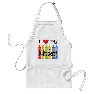 kinder teacher standard apron