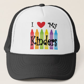 kinder teacher trucker hat