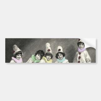 Kindercarneval Children Carnival Costume Vintage Bumper Sticker