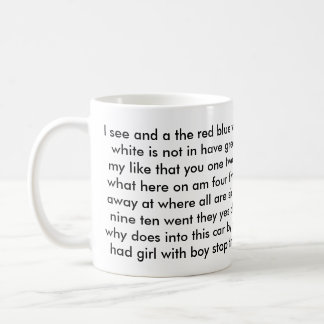 Kindergarten 1st grade Teacher sight words Coffee Mug