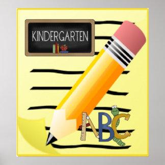 kindergarten art kindergarten prints posters framed art. Black Bedroom Furniture Sets. Home Design Ideas