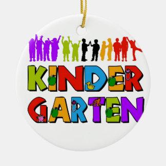 Kindergarten Fun Ceramic Ornament