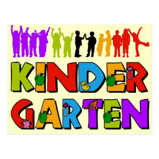 Kindergarten Fun Postcard
