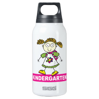 Kindergarten Girl Insulated Water Bottle