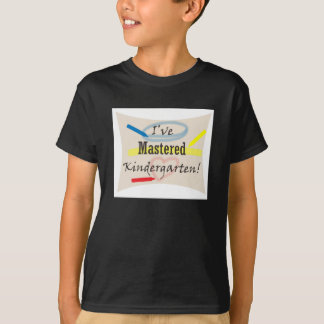 Kindergarten Grad - Mastered! Tshirts