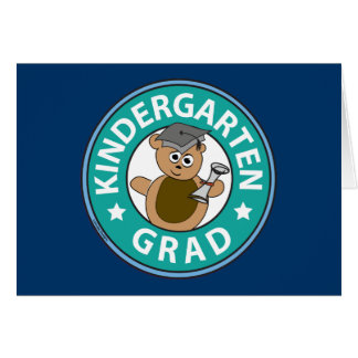 Kindergarten Graduation Card