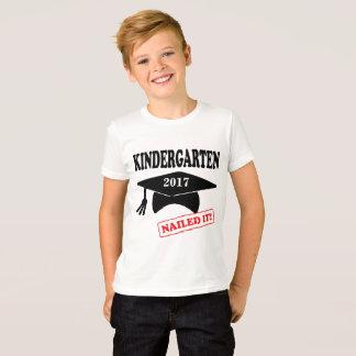 Kindergarten Nailed It - custom year T-Shirt