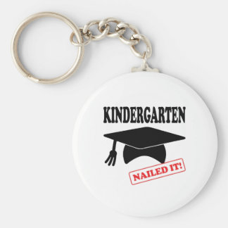 Kindergarten Nailed It Keychain