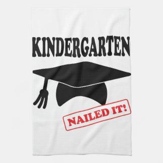 Kindergarten Nailed It Kitchen Towel