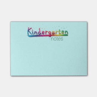 Kindergarten Post-it® Notes