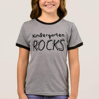 Kindergarten Rocks Kids Shirt