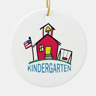KINDERGARTEN SCHOOL CERAMIC ORNAMENT