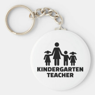 Kindergarten teacher keychain
