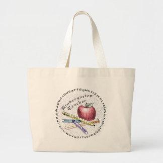 Kindergarten Teacher Large Tote Bag
